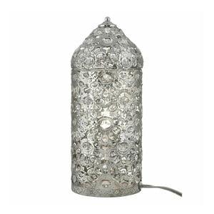 Stolná lampa Moroccan Shiny Nickel