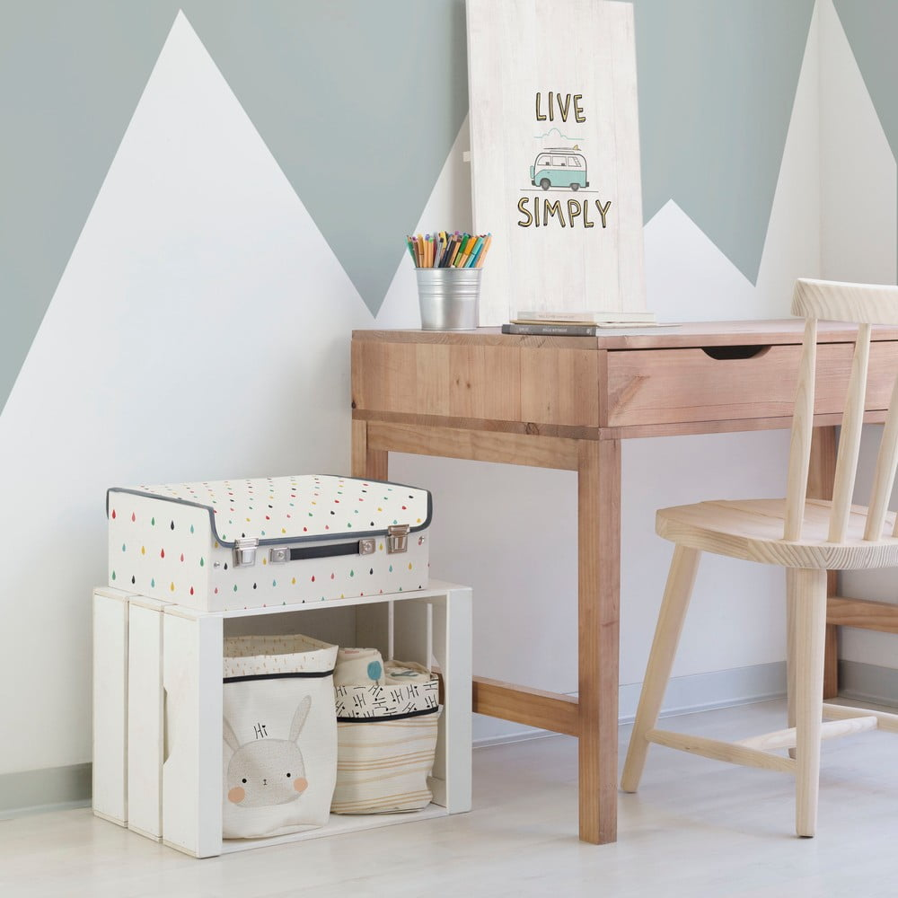 detsk kufr k little nice things drops bonami. Black Bedroom Furniture Sets. Home Design Ideas