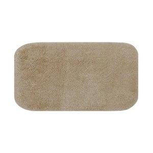 Tmavobéžová predložka do kúpeľne Confetti Miami, 67×120cm