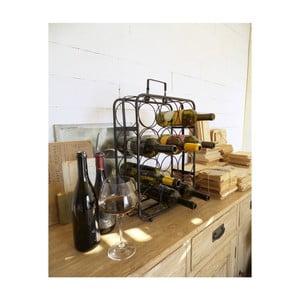 Čierny stojan na 12 fliaš vína Orchidea Milano Living