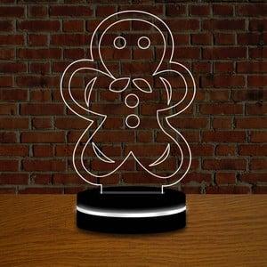 Lampa s 3D efektom Christmas no. 7