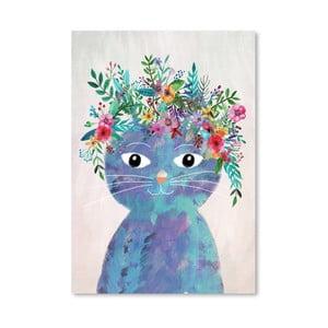 Plagát od Mia Charro - Flower Cat II