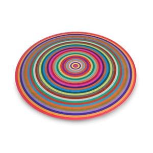 Multifukčná sklenená podložka Josoph Josoph Rings, ø 30 cm