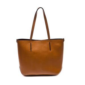 Hnedá kožená kabelka Sofia Cardoni Massima