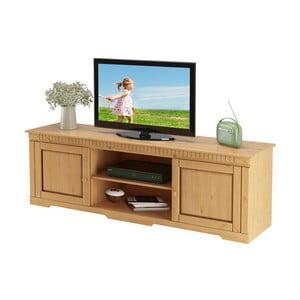 TV stolík z borovicového dreva Støraa Larry