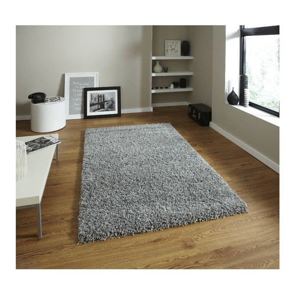 Koberec Think Rugs Vista Grey, 80 x 150 cm