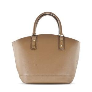 Kožená kabelka Sally, taupe