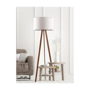 Biela stojacia lampa Simple