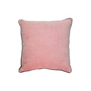 Ružový bavlnený vankúš HSM collection Colorful Living Rosa, 45×45 cm