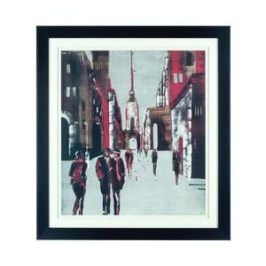 Obraz Drawing City, 92x102 cm