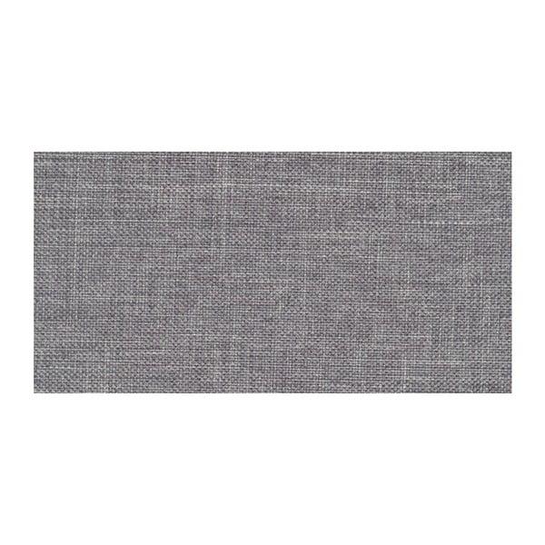 Sivá rozkladacia pohovka Modernist Pashmina, ľavý roh