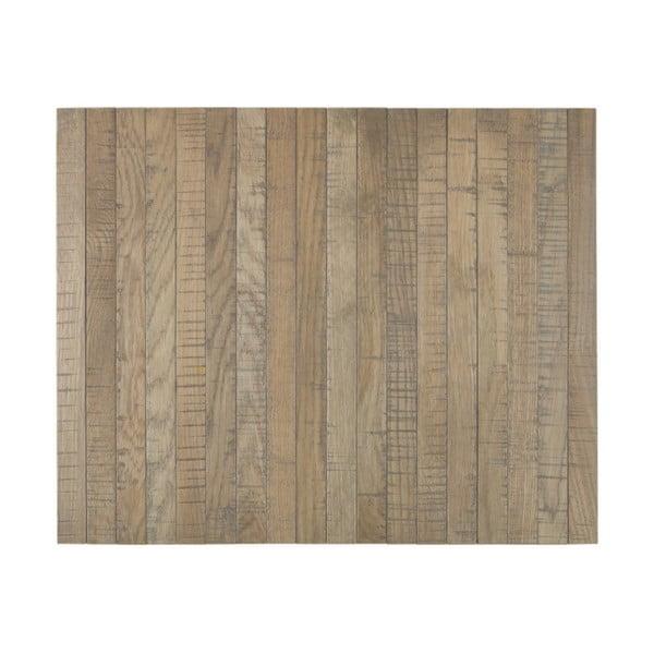 Svetlohnedá drevená podrúčka na pohovku De Eekhoorn