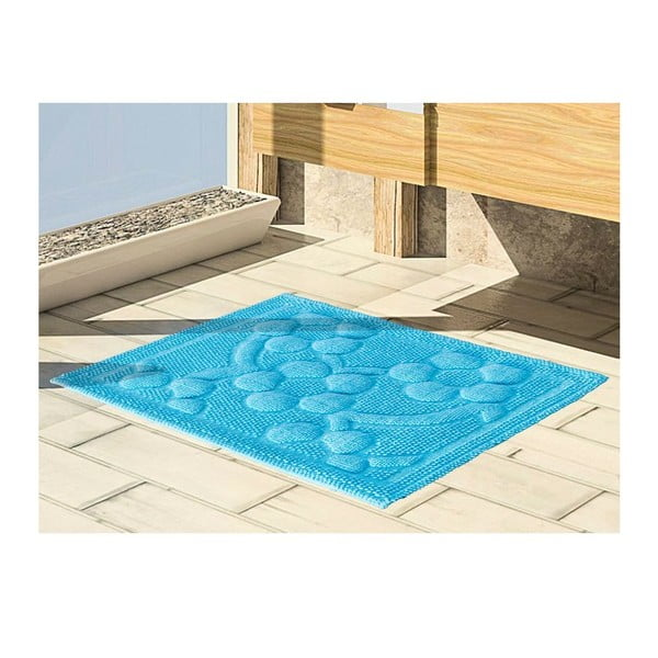 Predložka do kúpeľne Papatya Turquoise, 50x60 cm
