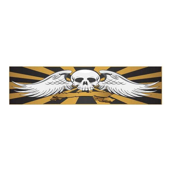 Posteľ Karup Rock-o Skull Black / Skull
