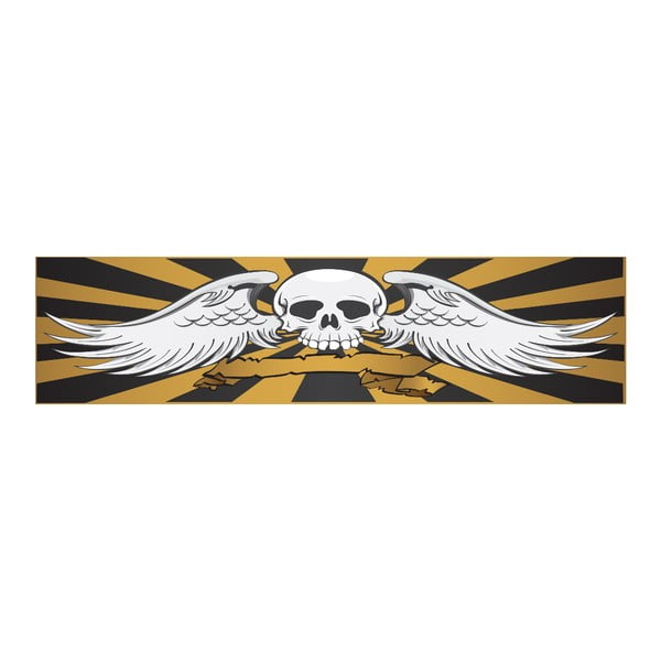 Posteľ Karup Eagle Black / Scull, 140x200cm