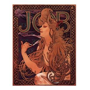 Obraz Alfons Mucha Job, 40x30 cm