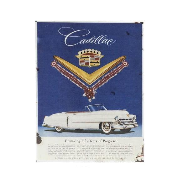 Nástenná ceduľa Novita Cadillac, 30 x 40 cm
