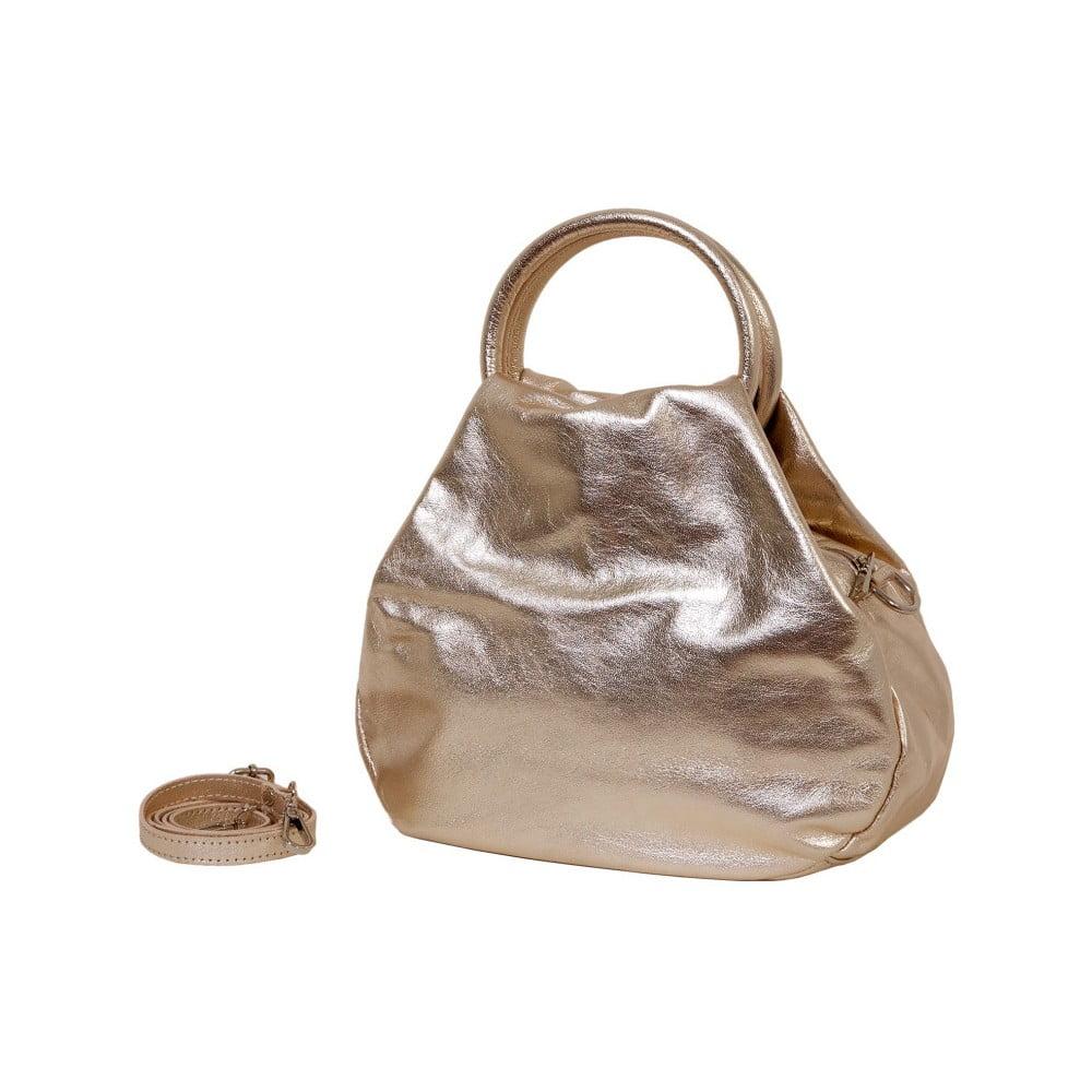 Zlatá kabelka z pravej kože Andrea Cardone Dolcezze  ddeb733f11d