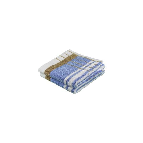 Osuška Berlin Blue/Beige, 50x100 cm