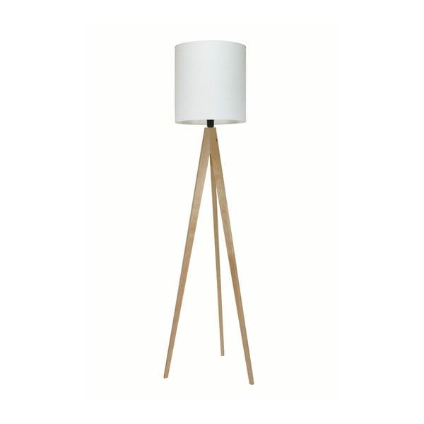 Biela stojacia lampa 4room Artist, breza, 158 cm