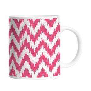 Keramický hrnček Pink Waves, 330 ml