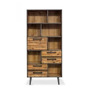Knižnica z masívneho akáciového dreva Massive Home Robbie, 100 x 200 cm