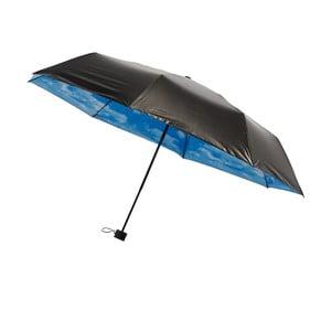 Skladací vetruodolný dáždnik s vnútornou potlačou mrakov Ambiance, ⌀ 95 cm