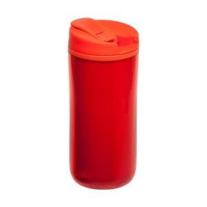 Termohrnček Flip & Seal 350 ml, červený