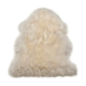 Koberec Single Sheepskin White, 100x100 cm