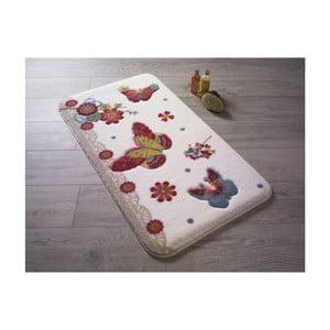 Kúpeľňová predložka Confetti Bathmats Battus Red, 55 x 57 cm