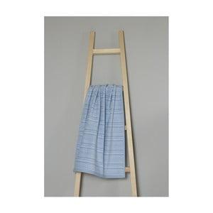Modrý bavlnený uterák My Home Plus Spa, 50×90 cm