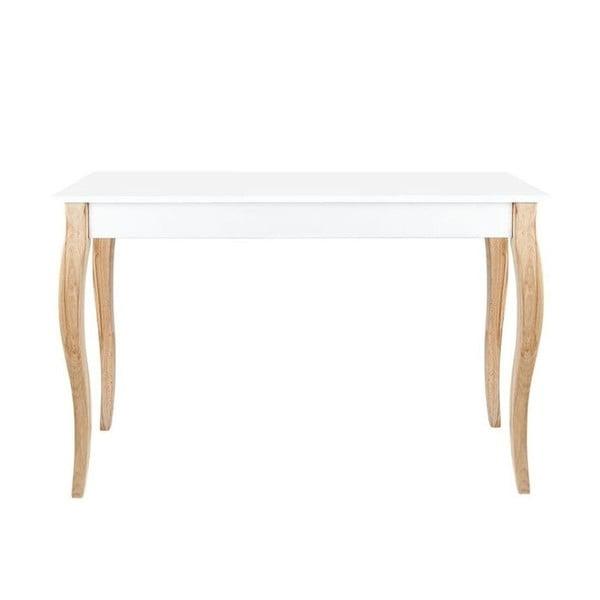 Odkladací konzolový stolík Dressing Table 105 cm, biely