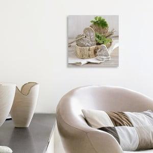 Obraz na plátne Pure Nature's Feeling 20x20 cm