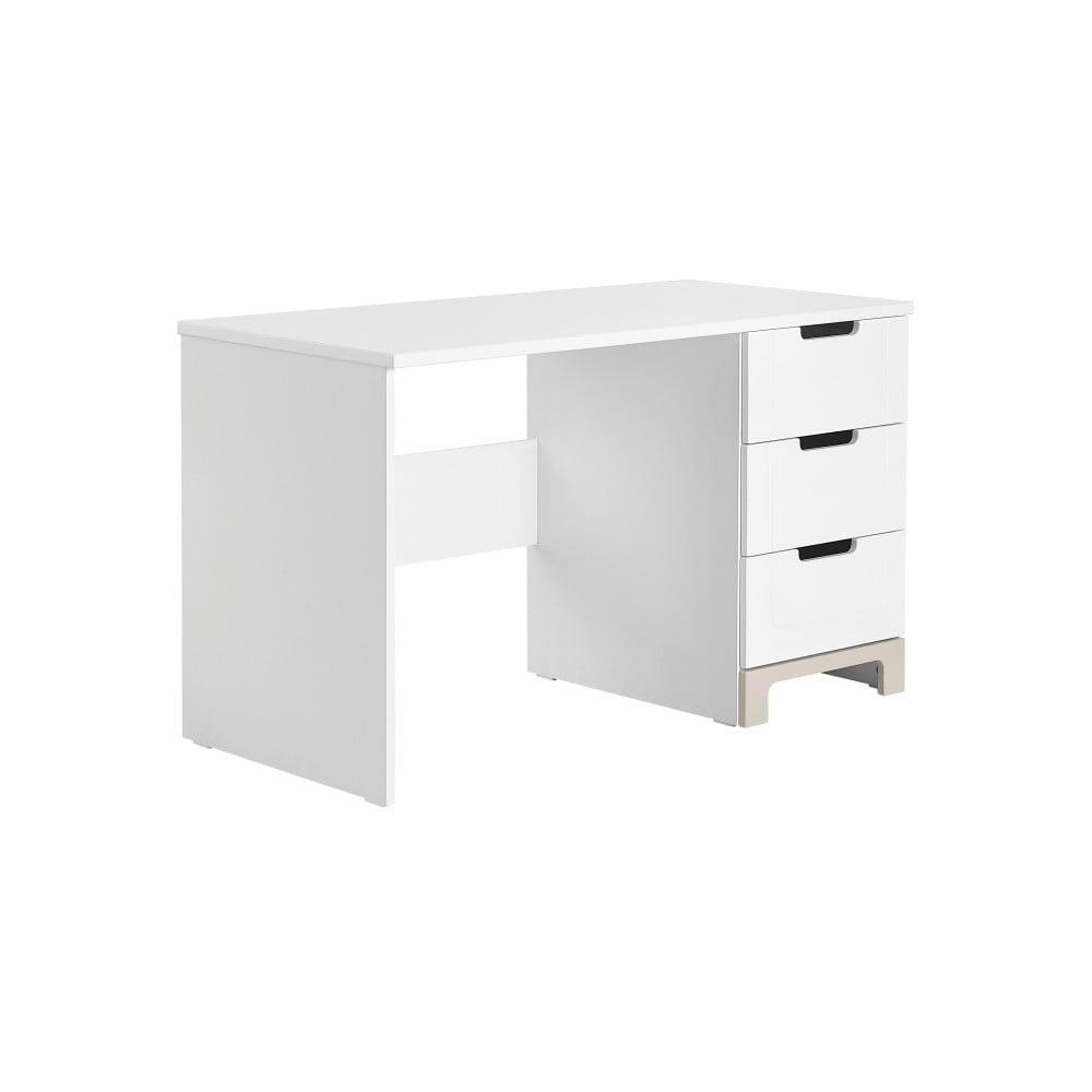 ab04889bbfbb Bielo-sivý písací stôl Pinio Mini