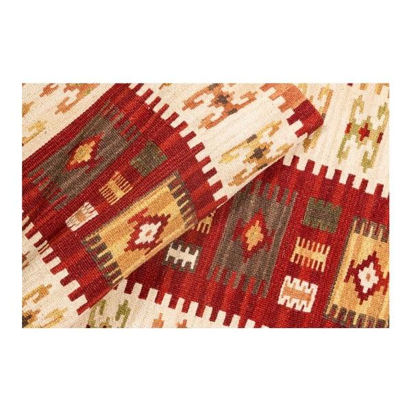 Ručne tkaný koberec Kilim Dalush 303, 180x65 cm