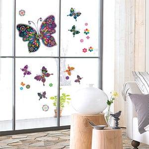 Samolepka na okno My Pretty Butterflies