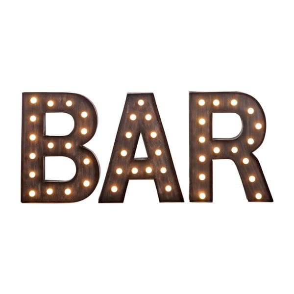 Svietiaci nápis Bar
