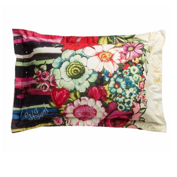 Obliečka na vankúš DESIGUAL Lovely Garden, 70x90 cm