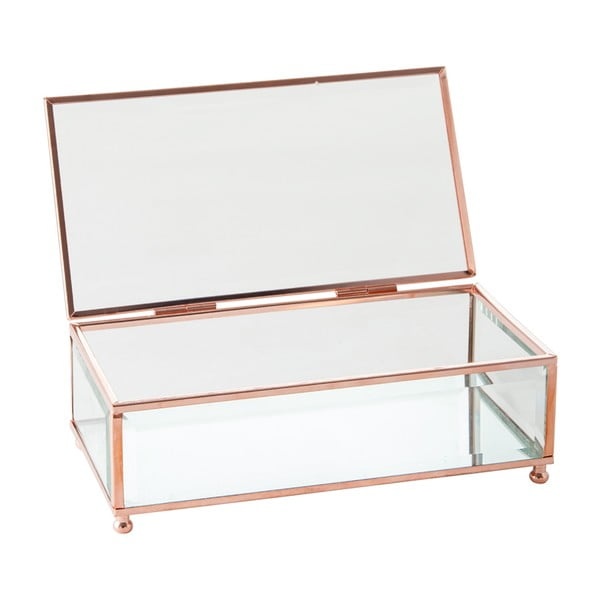 Šperkovnica Jewel Glass, 20x20 cm