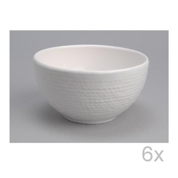 Miska White 15 cm (6 ks)