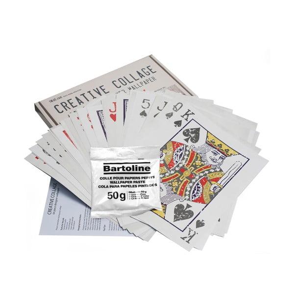 Kreatívna koláž Cards