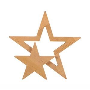 Dekorácia z jelšového dreva Nørdifra Star