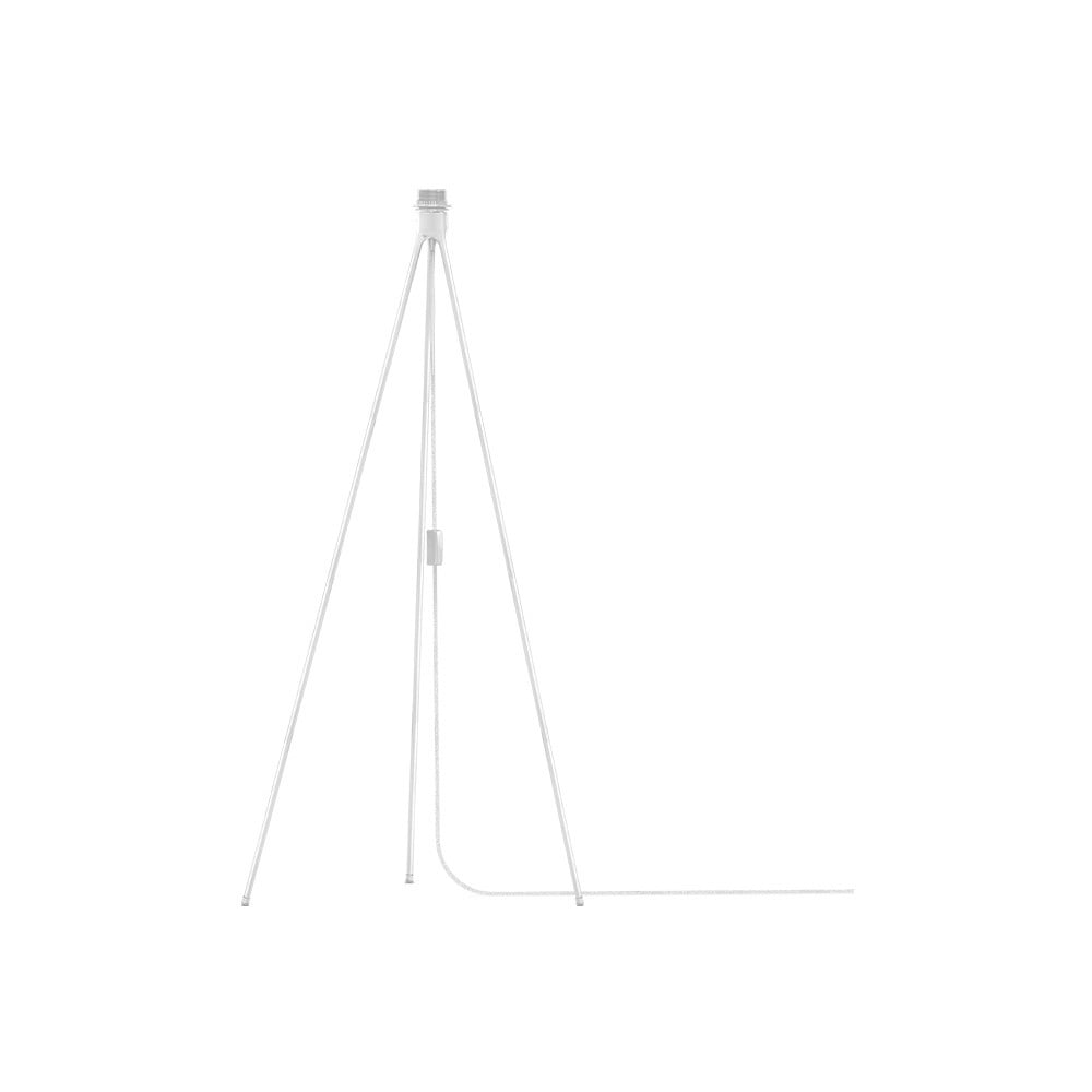 Biely stojan tripod na svietidlá VITA Copenhagen, výška 109 cm