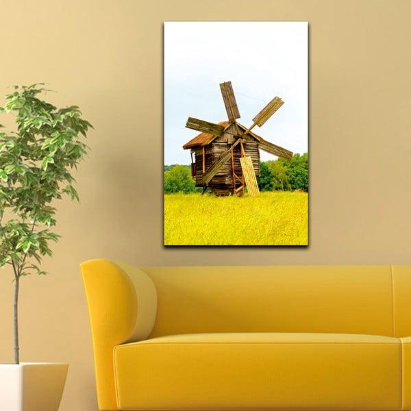 Obraz Drevený mlyn, 45x70 cm