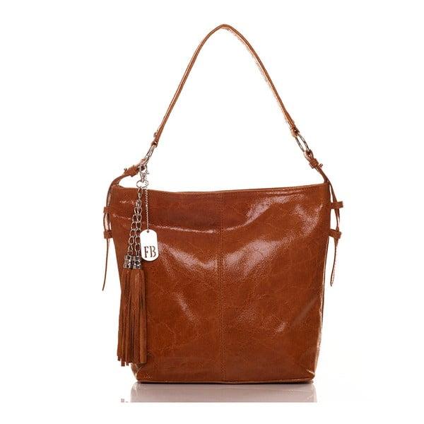 Kožená kabelka Hobo Tan