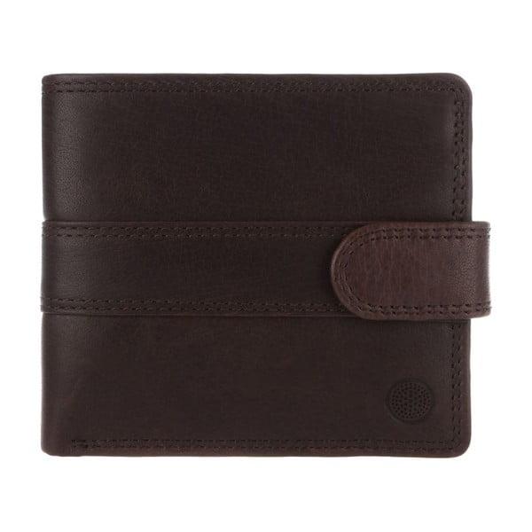 Kožená peňaženka Oscar Darkest Brown