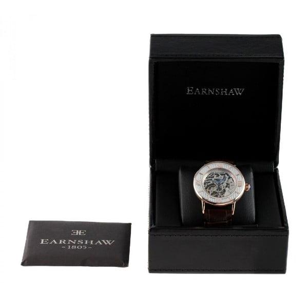 Pánske hodinky Thomas Earnshaw Rose Gold/Brown