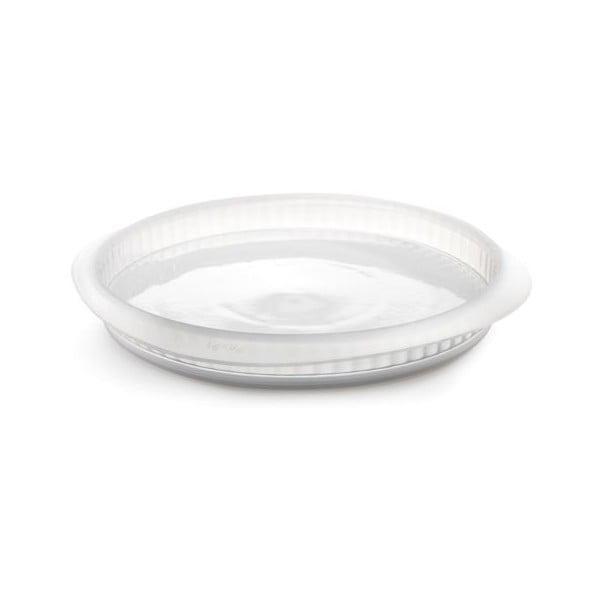 Forma na quiche s keramickým tanierom, priesvitná