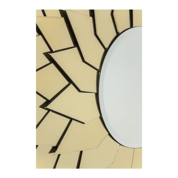 Zrkadlo Kare Design Sunflower Round, ø120cm