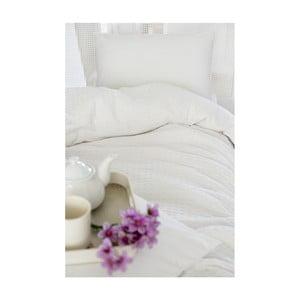 Biela ľahká prikrývka cez posteľ Pure, 200x240cm